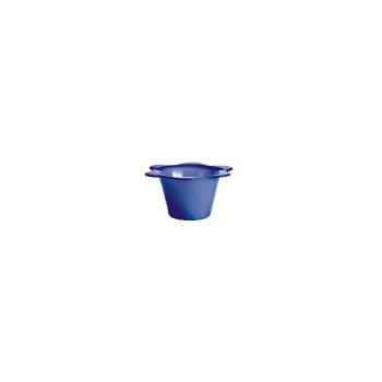 Pandorael blumentopf gro pastellblau recyclingglas for Blumentopf gross