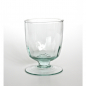 Preview: OPTIC Kelchglas / Weinglas / Wasserglas, 250 cc, Recyclingglas, Handgearbeitet, recyceltes Glas