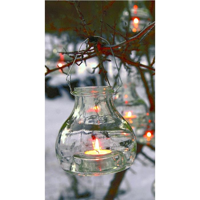 pandorael windlicht kerzenhalter teelichthalter recyclingglas. Black Bedroom Furniture Sets. Home Design Ideas