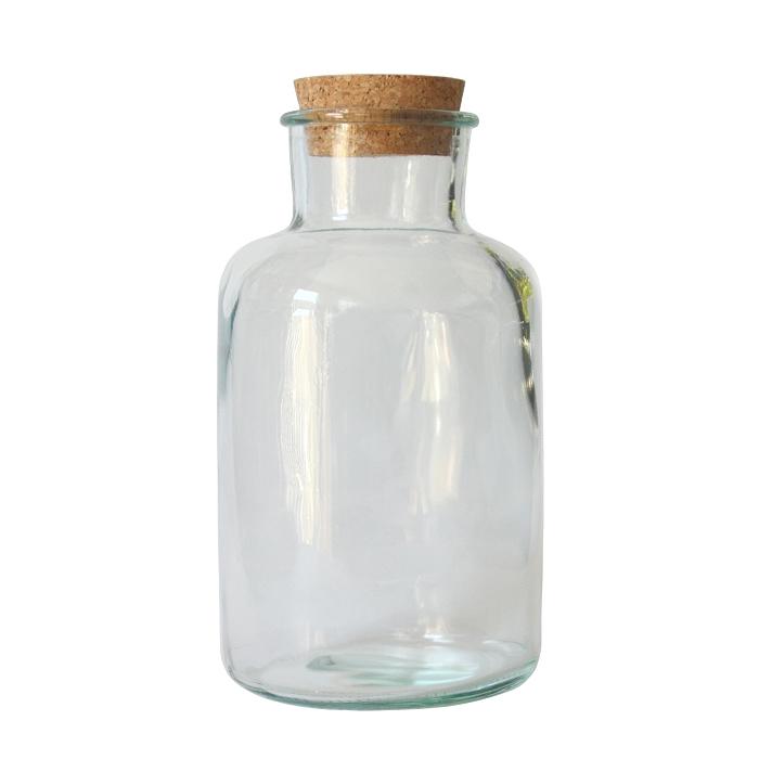pandorael flasche vorratsglas mit korkdeckel 1 liter recyclingglas. Black Bedroom Furniture Sets. Home Design Ideas
