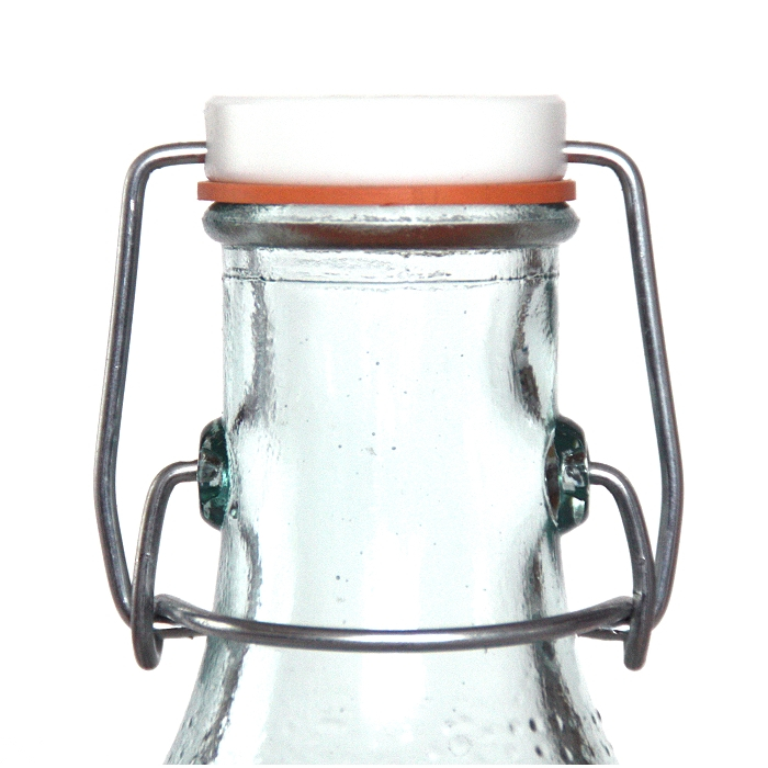 pandorael flasche maritim b gelverschluss recyclingglas. Black Bedroom Furniture Sets. Home Design Ideas