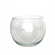 BALL Glasbecher / Weinglas / Kugelvase, 400 cc, Recyclingglas / recyceltes Glas, handgearbeitet